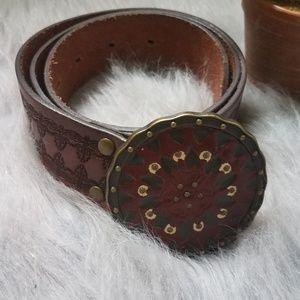 Fossil genuine leather belt